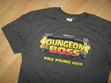 Dungeon Boss Tee - PAX Prime Penny Arcade Expo Video Game Gamer Geek T Shirt Med