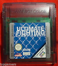 Ultimate Fighting Championship - Nintendo Game Boy color / Advance