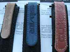 BRAND NEW QUICKSILVER WATERPROOF NYLON VELCRO LEATHER WATCH STRAPS