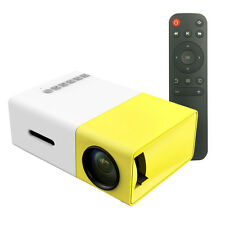 600 Lumens YG300 Mini Portable High Resolution Led Projector Home Theater