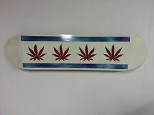 Hand Painted Skateboard - Art - Chicago 420 - Direct from the Artist