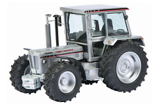 """SCHUCO 1:32 SCALE SCHLUTER 1350 COMPACT HIGH SPEED TRACTOR """"SILVER"""" (MIB)"""
