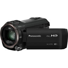 Panasonic HC-V770 Full HD Camcorder 1080P/WiFi/120fps/20x Zoom - (Black, NTSC)