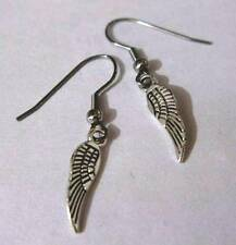Angel Wing Earrings - Gift Boxed - with Hypoallergenic Surgical Steel Earwires