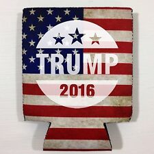 NEW Donald TRUMP Gift beer Drink can Koozie drink Coozie USA Flag FREE SHIPPING