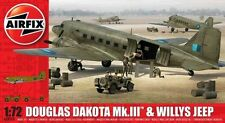 Airfix 1/72 Douglas Dakota Mk.III with Willys Jeep # A09008