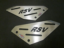 Aprilia RSV1000R (04-10) Stainless Steel Foot Peg Heel Plates - Beowulf HPAP003