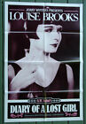 Diary of a Lost Girl R1980's•Louise Brooks•Pabst•Original US Movie Poster 27x41