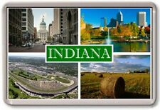 FRIDGE MAGNET - INDIANA - Large - USA America TOURIST