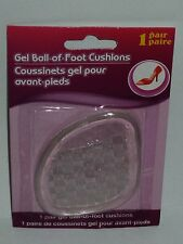 1 Pair Ladies Gel Ball Of Foot Cushions & Helps Prevent Slipping Fits All Shoes