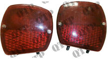 FORD 2000 3000 4000 5000 7000 3600 4600 Tractor REAR Fender Light Lamp PAIR NEW