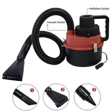 Portable Powerfull Mini Auto Car Vacuum Cleaner Wet/Dry DC 12 Volt Red New US