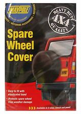 """4X4 Heavy Duty Spare Wheel Cover / Elasticated Protection -Size 28"""" 710Mm Jeep"""
