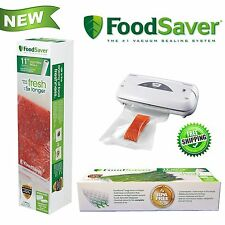 "11"" Roll Food Saver Vacuum Sealer Bag Storage Rolls Machine Commercial BPA FREE"