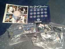 NYY 2004 MEDALLION COLLECTION MINT & rubber wrist bands