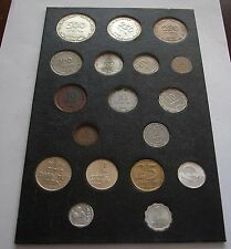 LOT OF 18 COINS 1949-1960'S INCLUDING 250 AND 500 PRUTA SILVER