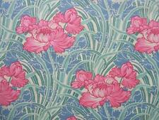"Cabbage Rose Art Deco Timeless Treasures Fabric 35"" REMNANT"