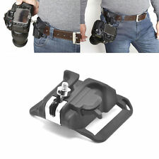 Camera Holster Waist Belt Buckle Button Fast Loading for All SLR Camera UK Disp