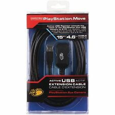 MC Data Sync Charger Playstation Move Camera ACTIVE USB Repeater Extension Cable