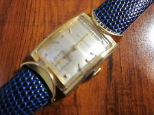 vintage Wittnauer Man's watch,17 jewels,Movement # 73,10 K gold Filled,ID # 1153