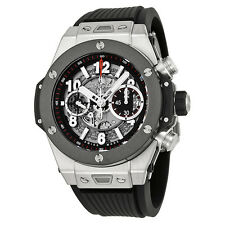 Hublot Big Bang Unico Titanium Ceramic Skeletal Dial Mens Watch 411.NM.1170.RX