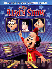 ALVIN SHOW (Blu-ray/DVD, 2015, 2-Disc Set) NEW WITH SLEEVE