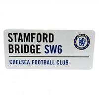 Chelsea Fc Street Sign Football Team Stadium Stamford Bridge SW6 Street Sign New