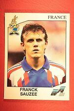 Panini EURO 92 N. 52 FRANCE SAUZEE NEW WITH BLACK BACK TOP MINT!!