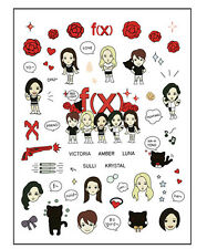 fx f(x) krystal tatoo sticker 2015 goods KPOP NEW