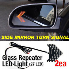Side Mirror Turn Signal Glass Repeater LED Light For Hyundai Santa Fe CM 06-12