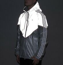 2016 Adidas Lux Colorado Reflective Stone Pierre Transparent Jacket Sz L New