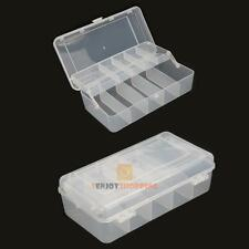 2 layers Tackle Tool Box Fishing Box Storage Case for Fishing Hooks Lure Baits