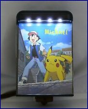 Awesome POKEMON  LED Night Light! Personalized w/ child's name! NO BULB!