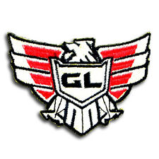 Goldwing Patch Embroidered Iron on Badge Emblem applique Motorcycle Honda GL