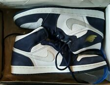 Nike Air Jordan 1 Retro + 2001 Navy Japan White Size 11.5