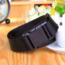 New belts Black Adjustable Tactical Military Combat Web Belt Plastic Buckle Belt