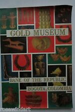 1970 Gold Museum Bank of Republic Bogota,Colombia, Ancient Art,Gold, Color Rare!