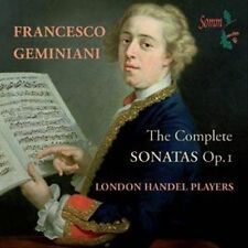 Geminiani: The Complete Sonatas Op. 1, New Music