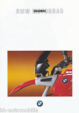 Prospekt BMW Enduros 1994 8/93 (D) brochure R 1100 GS R 100 80 PD F 650