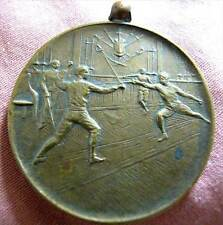 SWITZERLAND - BRIG SWORD COMPETITION BRONZE 3RD PRIZE MEDAL 1928