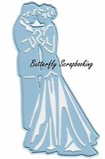 Wedding Bride & Groom Die Cutting Die Marianne Design Creatables Die LR0345 New