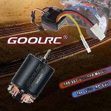 GoolRC 540 55T Brushed Motor and 60A Waterproof Brushed ESC for 1/10 RC Car I6K9