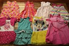 Lot of 8 Dresses Girls Size 4T Spring/Summer Clothes!