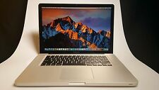 "Apple Macbook Pro Laptop 15.4"" Quad-Core i7 2.2 - 3.1 Ghz - 8GB RAM - 750 HDD"