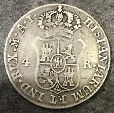 Royaume d'Espagne Joseph Napoléon 4 Reals 1811 M Madrid 5,76 gr