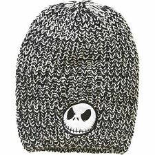 Womens Nightmare Before Christmas Slouch Beanie Jack Skellington Hat NEW