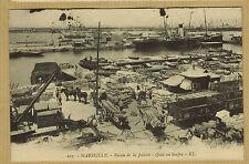 CARTE POSTALE - 13 - VUE SUR LE BASSIN DE LA JOLIETTE à MARSEILLE - 002