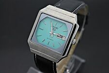 Vintage SEIKO 5 Automatic Day Date 6349-6000 T.V. Case Stainless Steel Watch