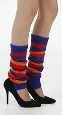 RAINBOW LEGWARMERS LEG WARMERS SCENE PUNK HARAJUKU MINX DANCE BRITE GAY EIGHTIES
