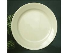 """Corelle SANDSTONE Beige 9"""" Wide Rimmed LUNCH Salad LUNCHEON PLATE *Rare Find NEW"""